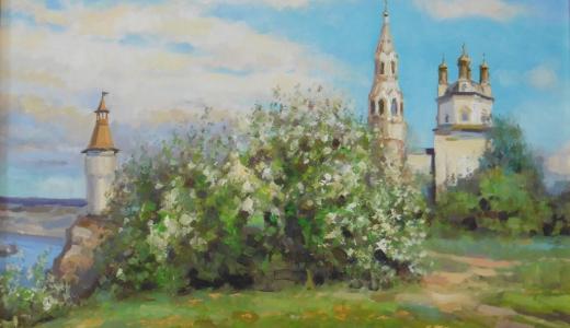 В Европейском открывается выставка уральского художника Сергея Волкова