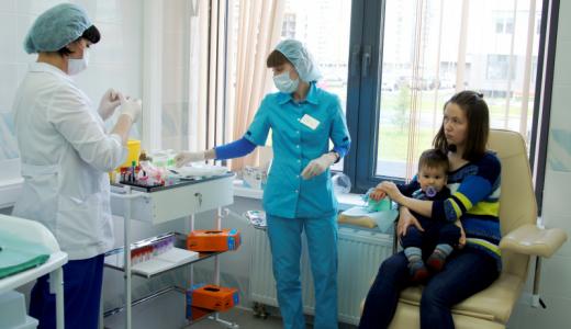 Первая детская поликлиника призывает привиться от гриппа