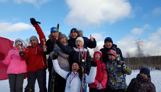В районе прошла лыжная гонка на «Кубок Академический»