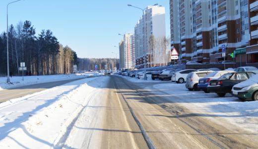 Администрация обязала застройщика 7 квартала чистить улицу Мехренцева
