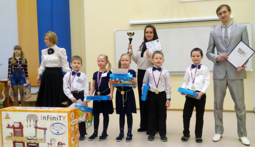 Команда детского сада № 44 победила в командном зачёте на итоговом турнире по шашкам