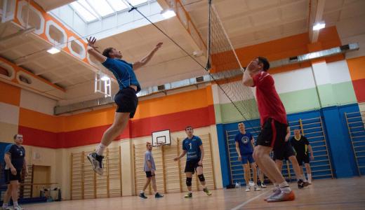 Сборная Академического выиграла спартакиаду Ленинского района по волейболу
