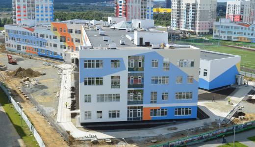 На стройплощадке школы № 23 началось благоустройство территории