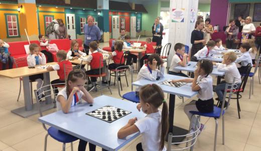 В районе прошёл осенний этап турнира по шашкам среди дошкольников