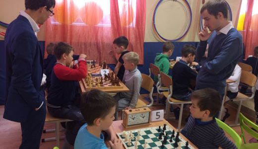 Школьники района сразились в «Шахматном дебюте»