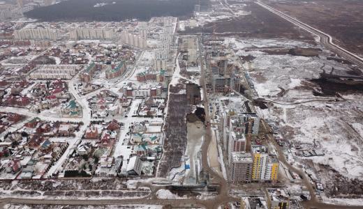 Началось строительство проспекта Академика Сахарова на участке от Чкалова до Амундсена