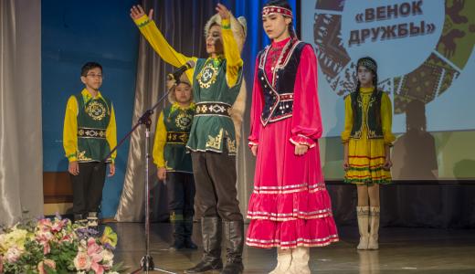 В Академическом прошёл фестиваль-конкурс национальных культур «Венок дружбы»