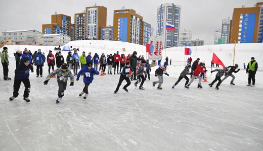 100 участников на первом этапе: в районе открыли зимнюю спартакиаду