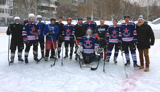 Хоккеисты Академического сражаются за первенство в Арамильской лиге
