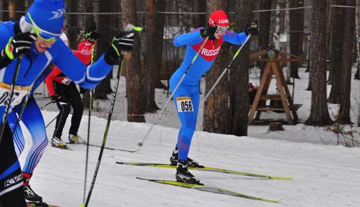 Академчане определили самого быстрого лыжного спринтера в рамках третьего этапа «AkademMan»