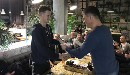 Хоккеисты районной команды «Звезда» подвели итоги сезона