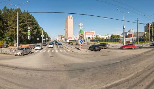 На Амундсена — Краснолесья установят «умный» светофор для общественного транспорта