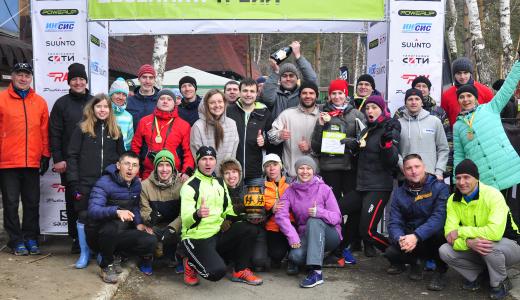 Сборная Академического района выиграла командный кубок трейл-гонки на Калиновке