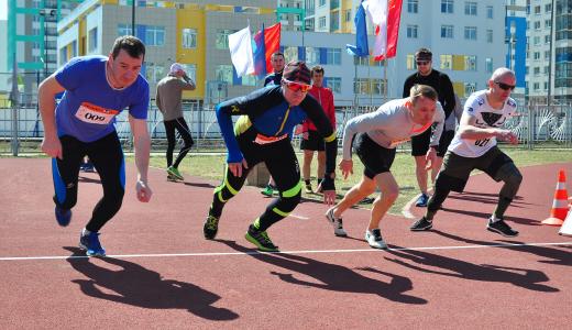 На пятом этапе «AkademMan» определили самых быстрых спринтеров района