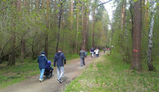 В майской прогулке по «Тропе здоровья» приняли участие более 200 человек