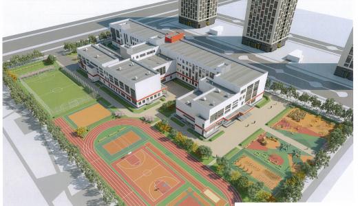 В следующем году в районе построят школу и два детских сада