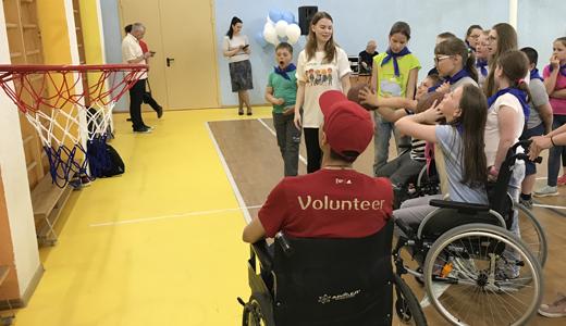 «На урок — вместе»: в школе № 23 прошёл фестиваль параспорта