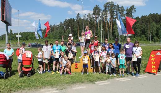 В призёрах второго этапа спартакиады — целые семьи