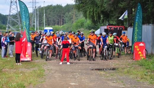 На восьмом этапе «AkademMan» определили самых быстрых велосипедистов на длинной дистанции