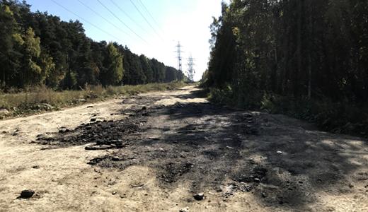 «Ездить уже можно»: на грунтовке по Вонсовского засыпали ямы, и расширили дорогу
