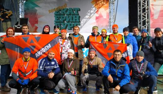 Четыре команды из Академического приняли участие в эстафете «Вечерний Екатеринбург»