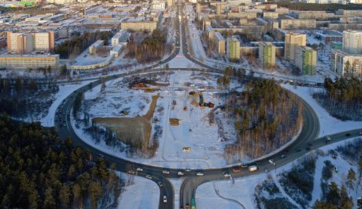 Итоги первого месяца реконструкции развязки на Объездной дороге