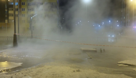 В районе на сутки отключают холодную и горячую воду из-за аварии