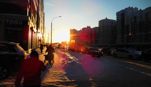 «Скользкие улицы»: академчане жалуются на гололёд