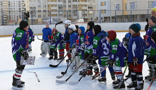 Две команды из Академического выиграли хоккейный турнир ко Дню защитника Отечества