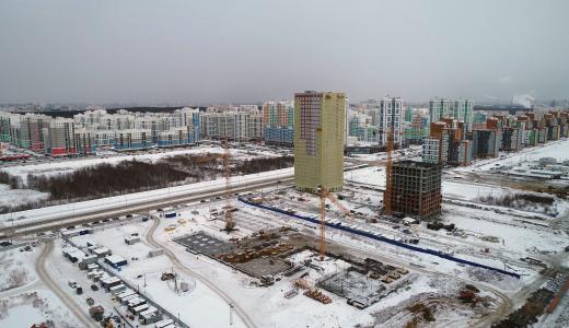 Началось строительство школы в 26 квартале