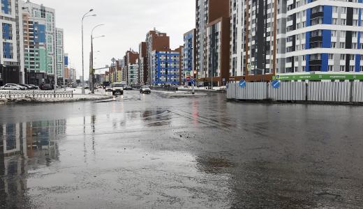 Проспект Академика Сахарова открыт