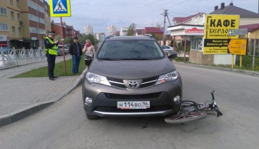 Опаздывал в школу: в Академическом велосипедиста сбила машина