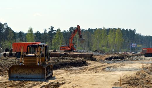 Реконструкция развязки на Объездной дороге завершится в этом году до наступления зимних холодов