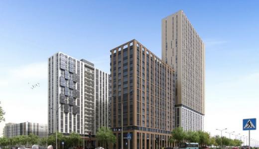 Институт Проектирования, Архитектуры и Дизайна показал эскиз 9 блока 11 квартала Академического