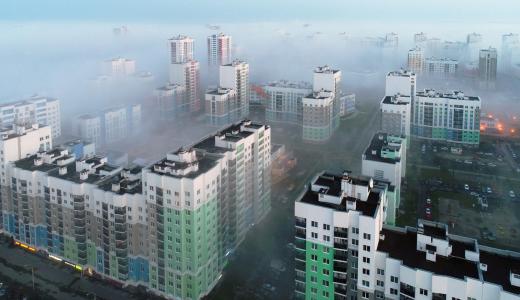 Завораживающие снимки утреннего тумана в Академическом
