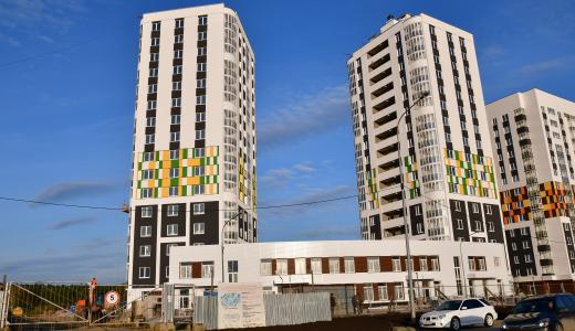 Ход строительства ЖК «Рябиновый» в 29 квартале района