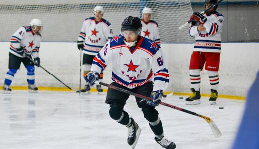 Команда из Академического продолжает выступление в Ночной Хоккейной Лиге