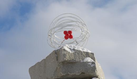 Новый арт-объект: в районе появился символ науки