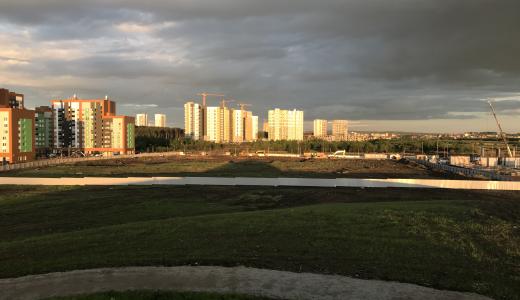 В Преображенском парке приступили к строительству Дворца Дзюдо
