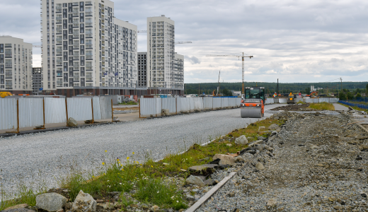 Улицу Рябинина продляют от проспекта Сахарова до улицы Парина