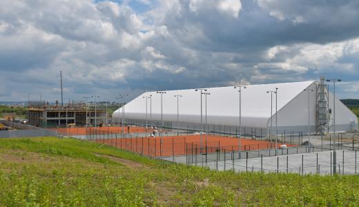 Экскурсия в строящуюся в Преображенском парке Теннисную Академию