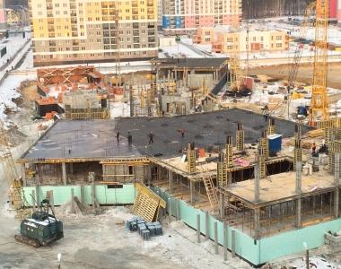 Ход строительства школы в 5 квартале