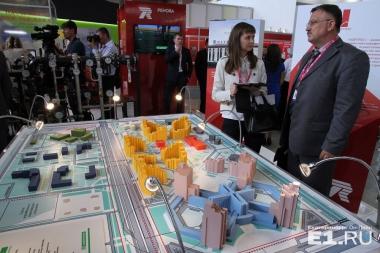 Академический представил на «Иннопроме» Медкластер и энергоэффективные дома