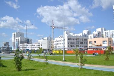 Ход строительства школы № 23