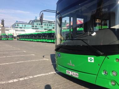 В Академический пустят новые низкопольные автобусы