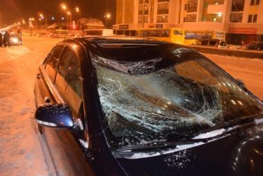 На улице Краснолесья пострадал не соблюдающий ПДД пешеход