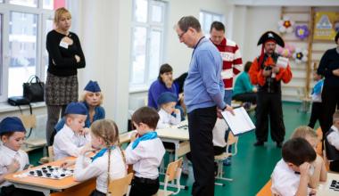 II турнир по шашкам среди дошколят на кубок «РСГ-Академическое»