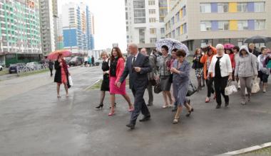 Академический представили Женскому Парламенту Свердловской области