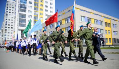 Район отметил День Победы