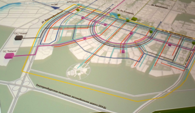Объявлен конкурс на проектирование улицы Амундсена до ЕКАД